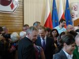 05.10.2011 r. Spotkanie Premiera Donalda Tuska z przedstawicielami związkowców z całego kraju w Sali Zjazdowej ZNP